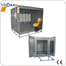 powder spray booth /powder machine /powder coating system