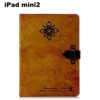 FL388 retro Steampunk folio case Book Stand cover for ipad mini2