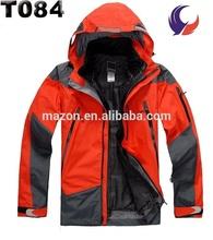 Mens outdoor waterproof windstopper jacket brand name summit series jacket T84
