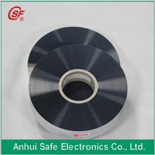 2014 capacitor film al zn alloy metallised bopp film for capacitor use 7um 35mm 2.0mm