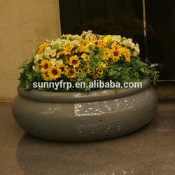 Large round planter flower pot