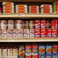 Atacado alimentos enlatados Canned sardinha em molho de tomate