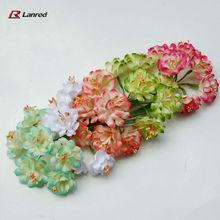 New Style Fabric Flowers Wedding Craft Decor.