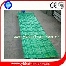 Colored Steel Tile Flat Sheet Color Zinc Coat Steel Sheet