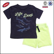 top quality kids summer clothes set wholesale for children boys