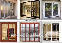 pictures aluminum window and door/Guangzhou Sendpro factory pupular design pictures aluminum window and door