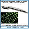 LBK144 hot new products for 2014 blue led keyboard for tablet pc tablet backlit keyboard led bluetooth keyboard
