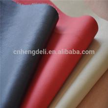 TC cloth backing DE90 pu sofa leather