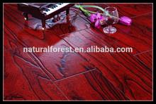 Relief Carving American Old Elm Hardwood Engineered Wood Flooring