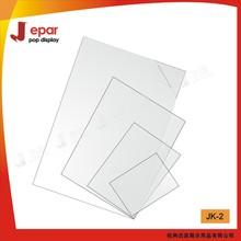 Plastic clear pvc sheet for poster frame