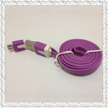 1.2meter micro usb cable for ZTE for Lenovo portable usb cable