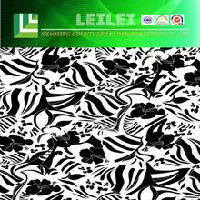 Luxury Flower Pattern Silk Brocade Fabric For Women