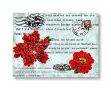 تخصيص كلمة العتيقة ديكور المنزل الزهور والتصوير