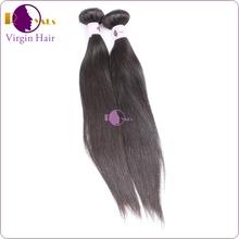 Double Weft Wholesale 100% cheap human black women hair product