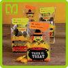 Yiwu China small packing cheap custom halloween cellophane treat bag