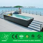 outdoor rectangular sex massage ready swimming pool china HS-3325M