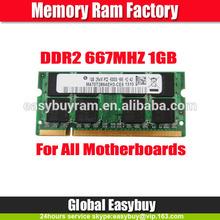 Branded export surplus full comaptible ddr2 ram price 1gb 667mhz