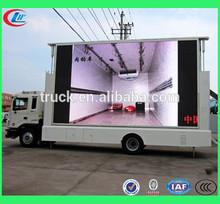 Euro4 Mobile Led Advertise Truck,Led Mobile Advertising Trucks For Sale,Outdoor Truck
