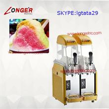 Hot sale single/double tank slush freezer machine for home