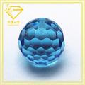 De alta calidad al por mayor cuentas bola de cristal de piedra/hacer de piedras preciosas en china
