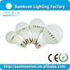 3w 5w 7w 9w 12w e27 b22 smd low price 3w led bulb light housing