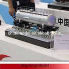 Scale model train for CSR / China model train
