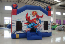 Cheap Superman Jumper Inflatable for Kids