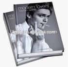 Glossy paper print photo book, custome photo book printing in china
