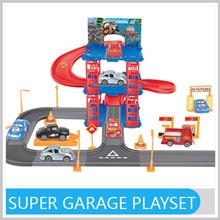 3 Layer Plastic Super Garage Toy Children's Playsets GW355071
