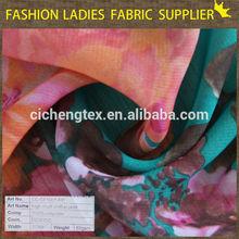 shaoxing textile models lace and chiffon dresses silk chiffon floral printed fabric long sleeve chiffon maxi dress