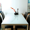 High Quality white lacquered glass for decoration, 4mm, 5mm, 6mm, 8mm, 10mm