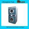 12kg Full automatic industrial stack washer dryer