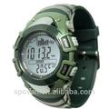digital de previsão do tempo de pesca relógio de pulso relógio de porcelana com barômetro