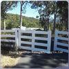 cheap PVC plastic horse fence gate designs
