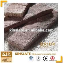 beige artificial brick for walling decorative