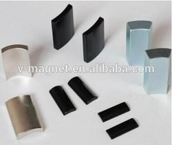 Segment magnet for magnetic generator DC motor