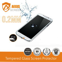 2014 newest tempered glass mobile phone mirror screen protector