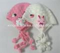 2014 de la moda de algodón de punto de los animales tapas