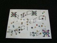 Color laser marking color letter logo on stainless steel