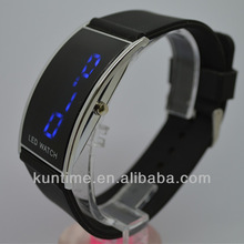 Clay made in korea cheap led watch silicone strap simple design clay made in korea