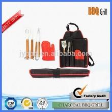 Professional design charcoal bbq grill set