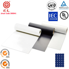 Three-layer PVDF Solar PV Module Backsheet with TUV UL JET Passed
