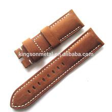 Fashionable wrist watch leather band 24mm 22mm