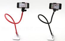 Universal flexible swivel long gooseneck phone stand cell phone holder for bed / desk mount