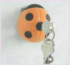 Soft TPU Key Cap/Key Chain/Key Cover with Ladybug Shape