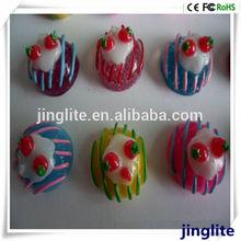 Colorful Fruit Mini Cake Set Fridge Magnet