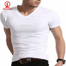 blank white bulk cotton t-shirts printed LOGO YOU WANT