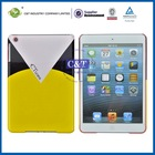 hot selling ultra thin luxury case smart cover for ipad mini with 4 folding fuction