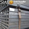 laminés à chaud galvanisé tube carré et rectangulaire en métal creux