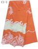 C1-1 new design organza embroidery lace
